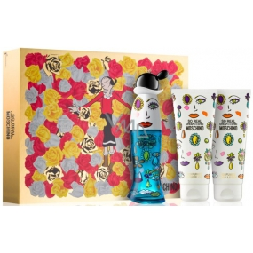 Moschino So Real Ladies EdT 50 ml Eau de Toilette + 100 ml Body Lotion + 100 ml shower and bath gel, gift set