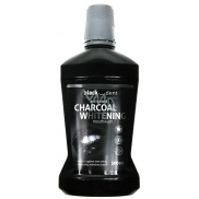 Black Dent Charcoal Activated Carbon Mouthwash Mouthwash 500ml