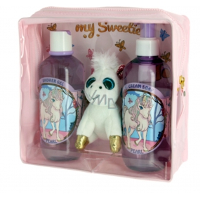 Vivian Gray Baby Pearly Cream Liquid Soap 250 ml + 250 ml shower gel + soft toy, cosmetic set