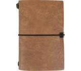 Albi Diary 2021 weekly luxury Brown 17.8 x 12 x 1.5 cm