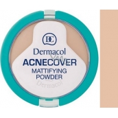 Dermacol Acnecover Powder For Problematic Skin 02 Shell 11 g