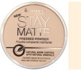 Rimmel London Stay Matte Powder 001 Transparent 14 g