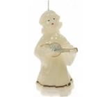 Lima Angel candle large decorated with 1 piece