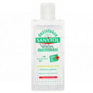 Sanytol Disinfection disinfectant gel for hands with Green Tea, destroys viruses and bacteria 75 ml
