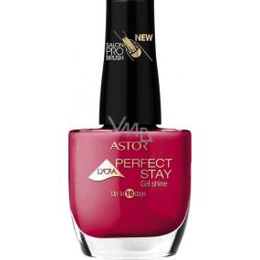 Astor Perfect Stay Gel Shine 3v1 lak na nehty 310 Scandalous Red 12 ml