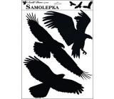 Sticker silhouette birds 42 x 30 cm No.2