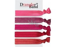 Dtangler Band Set Buble Gum gumičky do vlasů 5 kusů