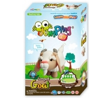 Jumping Clay Farma - Goat self-drying modeling compound 51 g + paper model + form 5+