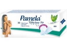 Pamela Extra Lang Slip Cotton Like intimní slipové vložky 32 kusů