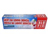 Alufix Ice heart bags self-closing 160 hearts 10 bags