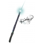 Witch wand with sound and light 7445