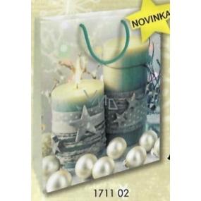 Nekupto Gift paper bag 32.5 x 26 x 13 cm Christmas 1711 02 WBL