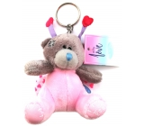 Me to You Plush key ring Teddy bear Ladybird 8 cm