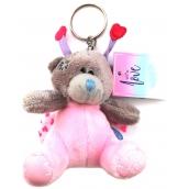 Me to You Plush key ring Teddy bear Ladybird 8 cm