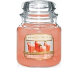 YANKEE CANDLES Fragrant Glass 411g White Strawberry Bellini (White Strawberry Cocktail)
