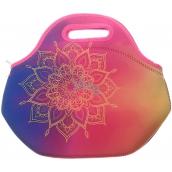 Albi Original Thermo snack bag Mandala keeps food longer hot / cold 30 x 27 x 18 cm