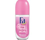 Fa Pink Passion Pink Rose Scent 48h roll-on ball deodorant for women 50 ml