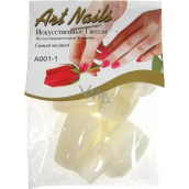 Art Nails Artificial nails square 20 pieces 2302