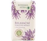 Bohemia Gifts Lavender relaxing toilet soap 100 g