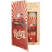 Bohemia Gifts & Cosmetics Kniha Retro Škoda sprchový gel 250 ml + olejová lázeň 200 ml (s příjemnou pánskou vůní), kosmetická sada