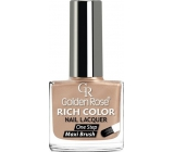 Golden Rose Rich Color Nail Lacquer lak na nehty 025 10,5 ml