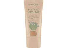 Deborah Milano Perfect & Natural Foundation SPF15 make-up 04 Sand 30 ml