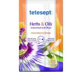 Tetesept Herbs & Oil Mučenka + Pomeranč koupelová sůl s pečujícími oleji 60 g + 15 ml