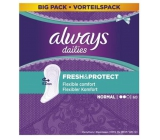 Always Dailies Fresh & Protect Normal with a delicate scent of 60 intimate panty liners