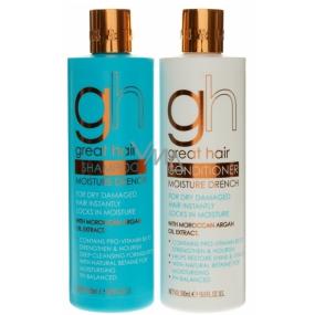 Baylis & Harding Moroccan Argan oil 500 ml shampoo + 500 ml hair conditioner, cosmetic set