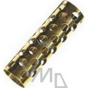 Metal curler medium 17 mm 1 piece
