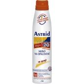Astrid F20 Mléko na opalování ve spreji 200 ml