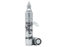 Barry M Nail Art Pens pero na zdobení nehtů 4 stříbrná