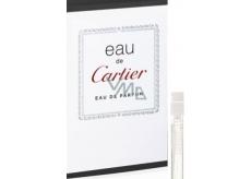 Cartier Eau de Cartier parfémovaná voda unisex 1,5 ml s rozprašovačem, Vialka