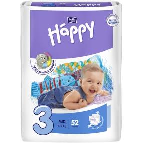Bella Happy 3 Midi 5-9 kg diaper panties 52 pieces