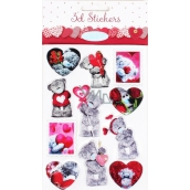 Me to You 3D Stickers with hearts 3 cm x 4 cm 11 pieces