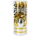 Ditipo Gift wrapping set gold-silver 2811900
