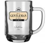 Nekupto League of True Gentlemen Beer Glass Being a Gentleman is a sexy 500 ml