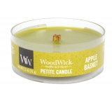 WoodWick Apple Basket - Basket of apples scented candle with wooden wick petite 31 g