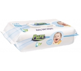 Pure Soft Touch wet wipes for children with a clip of 120 pieces