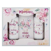 Bohemia Gifts Mom shower gel 100 ml + shampoo 100 ml + bath salt 110 g, cosmetic set