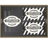 Castelbel Bergamot, lime and patchouli solid soap 2 x 150 g + candle in glass 180 g, luxury cosmetic set for men
