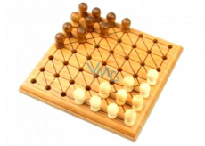Albi Bamboo minigames Halma board game for 2 players