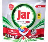 Jar Platinum Plus capsules for dishwasher 14 pieces