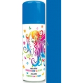 Angel Washable colored hairspray dark blue 125 ml