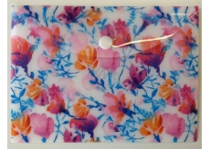 Albi Document Case Watercolor Flowers