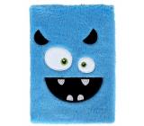 Block hairy Sly blue
