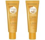 Bioderma Photoderm Max Aquafluid SPF50 sunscreen dry cream for all skin types 2 x 40 ml, duopack