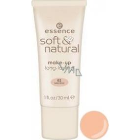 Essence Soft & Natural Makeup 02 Sand Beige 30 ml