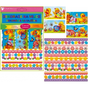 Foil for eggs 12 camisoles and stickers 22.5 x 15 cm (shrink camisoles)