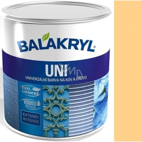Balakryl Uni Mat 0660 Ocher universal paint for metal and wood 700 g